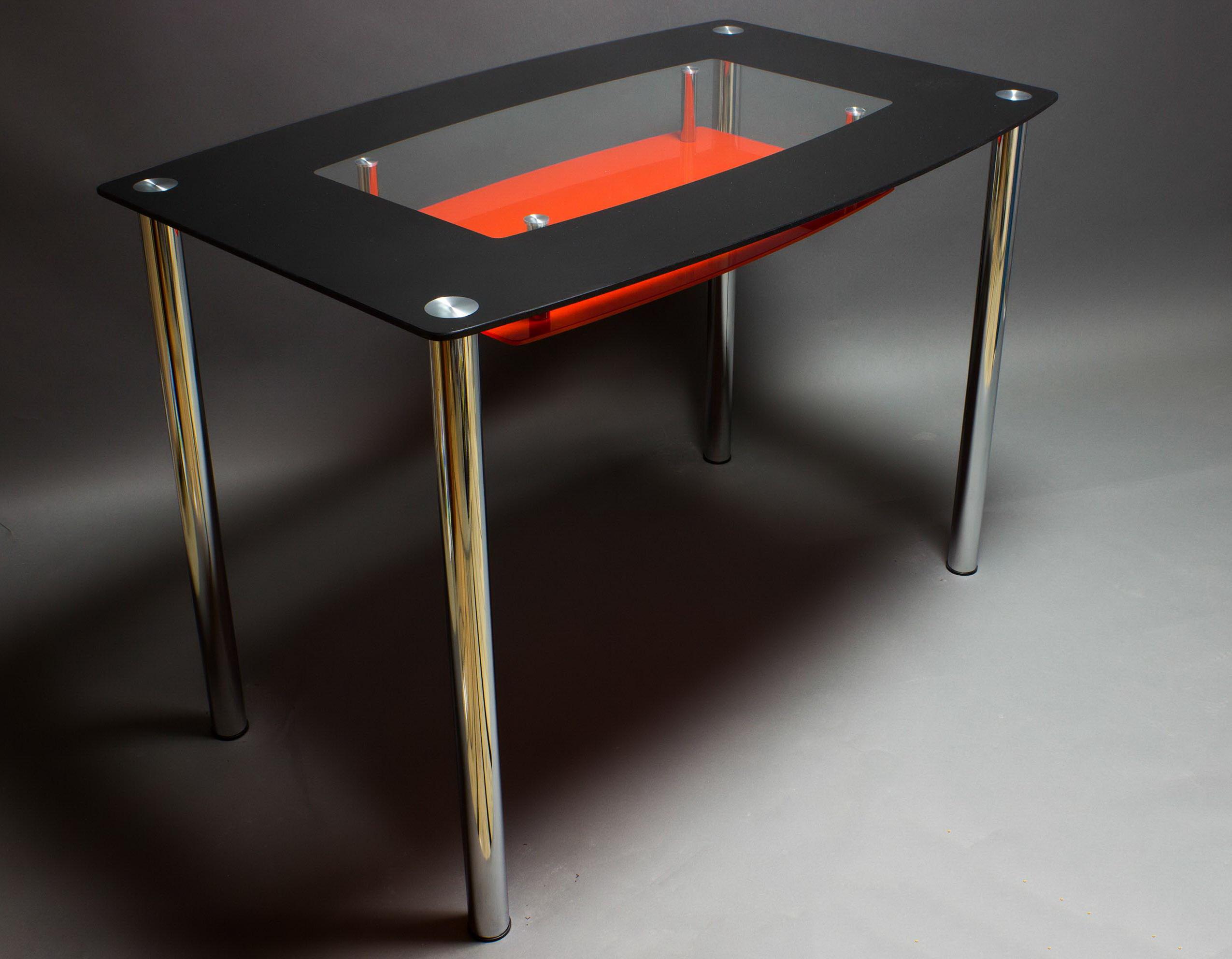 Сделать стеклянный стол на кухню своими руками