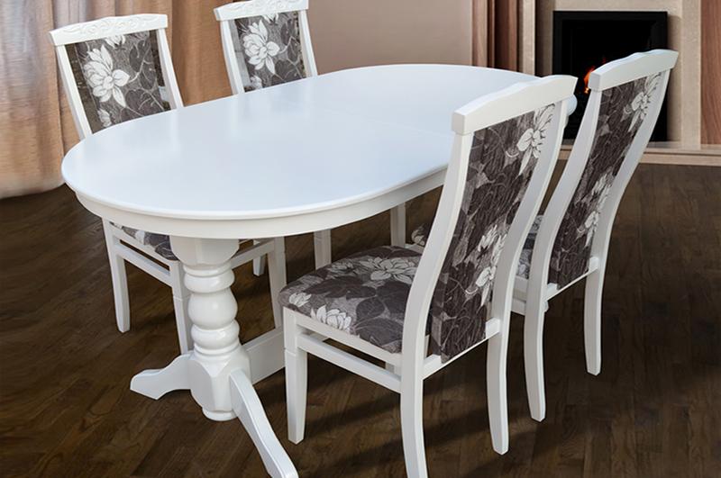 Столы для кухни овальные раскладные