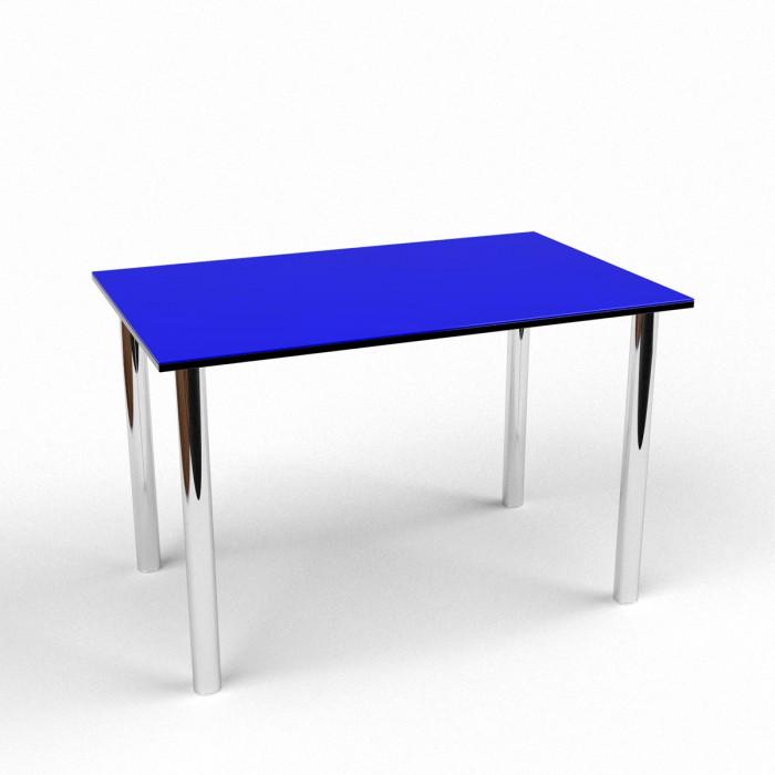 Обеденный стол ДСП+стекло 1100
