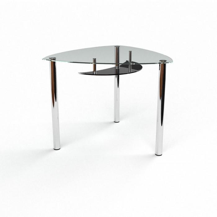 Стол стеклянный Луна 900