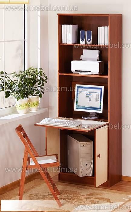Компьютерные столы - стол-шкаф раскладной o-201.