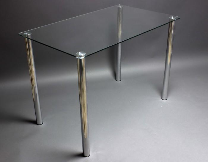 Стол стеклянный Прозрачный 910