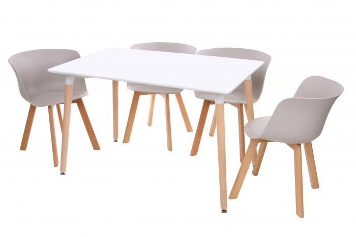 Обеденный стол TM-36, белый