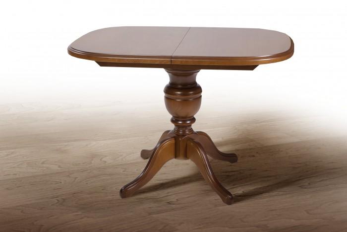 Деревянный раскладной стол Триумф, рустикаль
